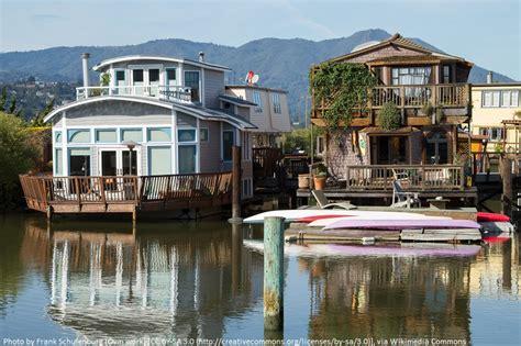 houseboats sf sausalito treklist