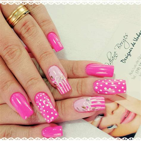 beautiful nail designs nail 29 pink nail designs ideas design trends premium