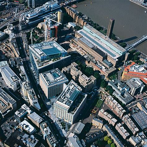 123 Search Uk A135 00217 Aerial View Of The Tate Modern And 123 Banks Construction Photography