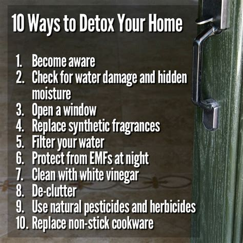 Detox Your Home Living by 10 Ways To Detox Your Home It Takes Time