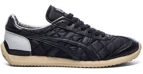 onitsuka tiger california 78 in black for lyst