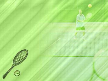 Tennis 08 Powerpoint Templates Tennis Powerpoint Template