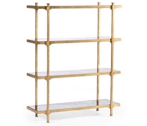 Glass Etagere Bookcase glass etagere display bookcase swanky interiors