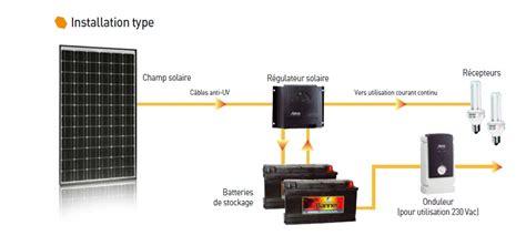 bureau d 騁ude photovoltaique installation photovoltaique pour site isole