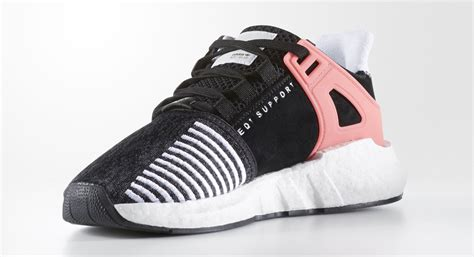 Adidas Eqt Support 93 17 Pink Adidas Eqt Support 93 17 Black Pink Sole Collector