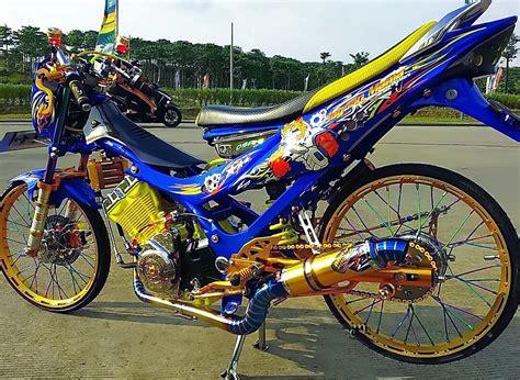Alarm Motor Buat Satria Fu gambar motor drag fu