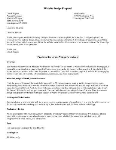 sle proposal letter for radio program cover letter
