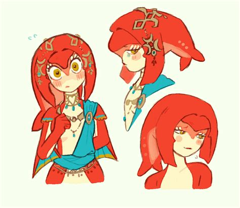 doodle communism combination princess mipha by swansom the legend of