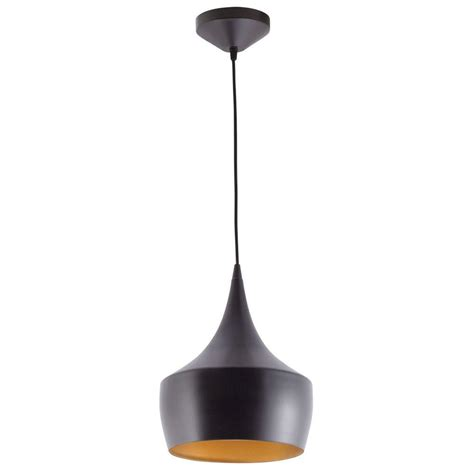 Hanging Ceiling Lights Globe Electric Modern Collection 1 Light Rubbed Bronze Ceiling Hanging Light Fixture With