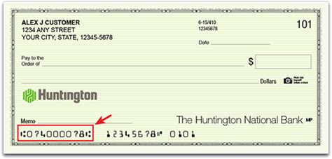 How To Read A Background Check How To Read A Check Huntington Bank