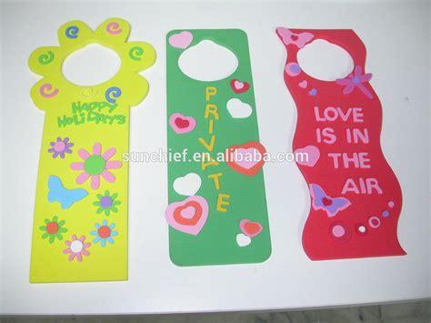 How To Make Door Hangers by Diy Foam Door Hanger Kits Buy Decorative Door Hanger