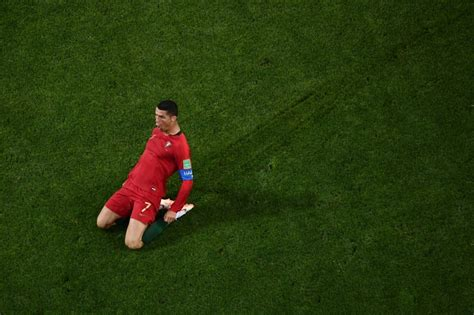 ronaldo s historic header sends morocco home punch