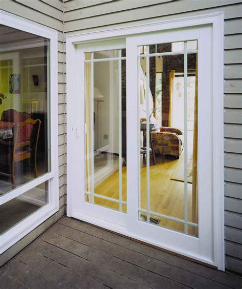 Lowes Exterior Patio Doors Wooden French Style Double Patio Doors On Sale