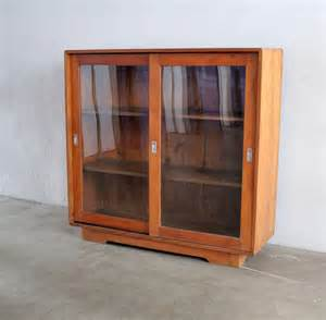 Glass Display Cabinet Retro Vintage Showcases And Display Cabinets Bobs Furniture