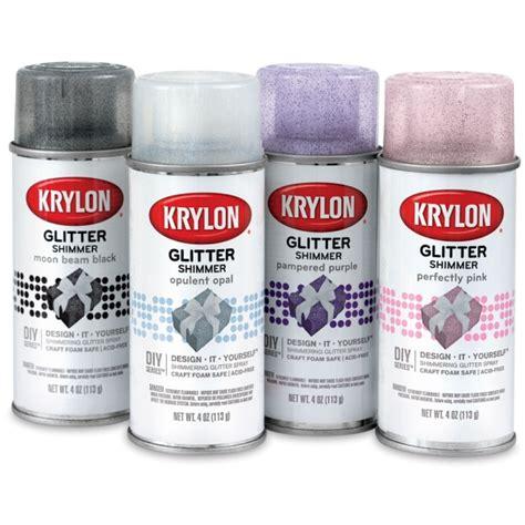 spray paint with glitter 01416 1014 krylon glitter spray paint blick materials