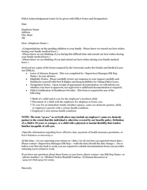 Fmla Cover Letter by Letter Of Recommendation Cover Letter The Letter Sle