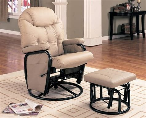 glider rocker and ottoman black friday deals black friday bone leatherette swivel glider rocker with