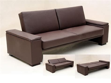 brown faux leather couches brown or black faux leather sofa bed homegenies