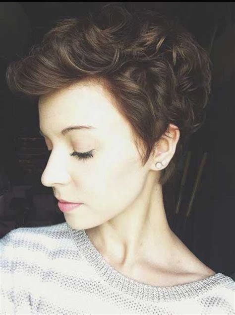 pixie cut for wavy thick hair curly pixie cut 2016 the best short hairstyles for women
