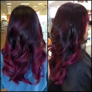 dye bottom hair tips still in style shatush rosso come realizzarlo e prendersene cura foto