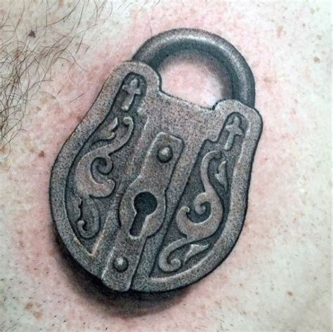 small key and lock tattoos 60 key tattoos for unlock masculine design ideas