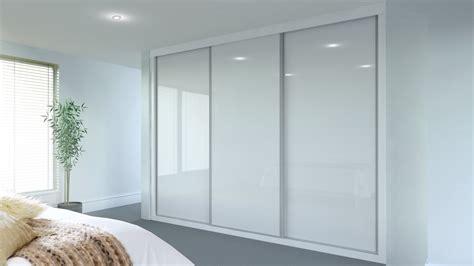 glass door stellar stellar white glass spacemaker bedrooms