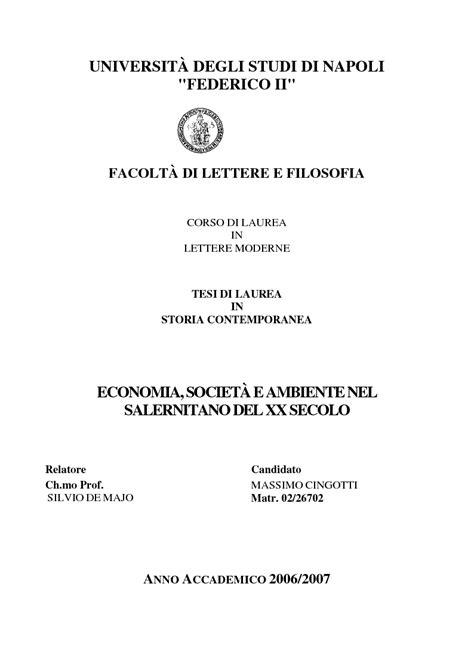 tesi lettere moderne universit 192 degli studi di napoli quot federico ii quot facolt 192 di