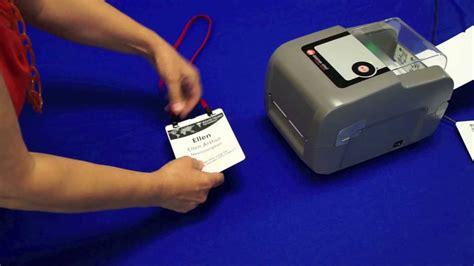 Printer Name Tag pc nametag presents the datamax name tag printer updated