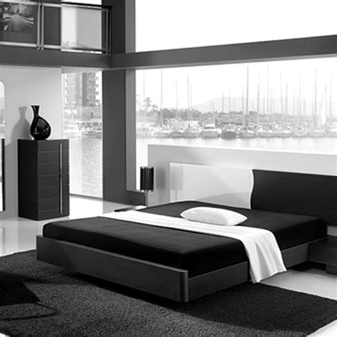 Bedroom Furniture Black And White Black And White Modern Furniture