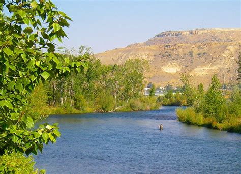 Barber Downtown Boise | fly fishing southeast of downtown boise near barber park