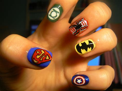 diy funky nail arts at home