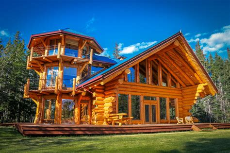 10 luxe log cabins to indulge in on national log cabin day