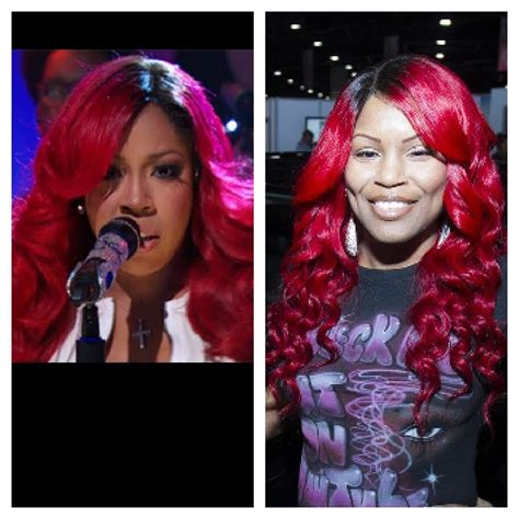 k michelle red inspired wig k michelle celebrity inspired wig youtube