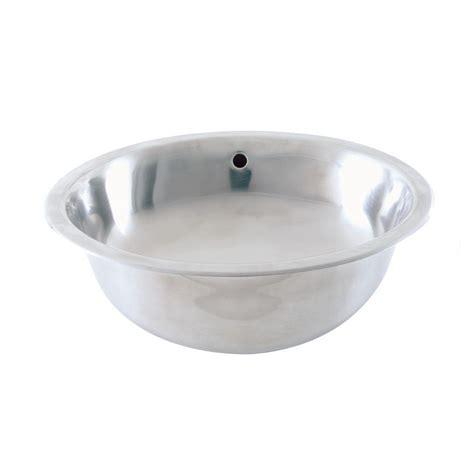 home depot drop in bathroom sinks decolav simply stainless drop in bathroom sink in brushed