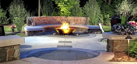 Fireplace In Garden by Sounded In The Garden Mobile Fireplace With