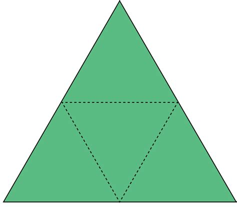 How To Make A 3d Triangular Pyramid Out Of Paper - play quot geometry quot flipquiz