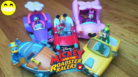 Donald Duck Racer mickey and the roadster racers toys goofy minnie mouse