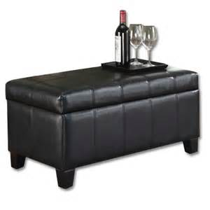 bella storage ottoman black buy storage ottomans living room