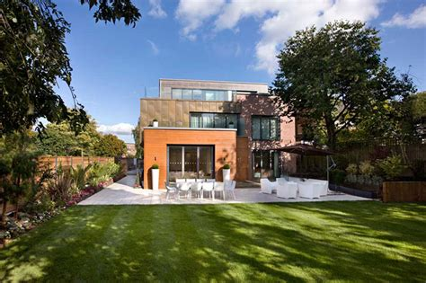Hyde Park Outdoor Furniture by Contemporary Home In London S Highgate Idesignarch