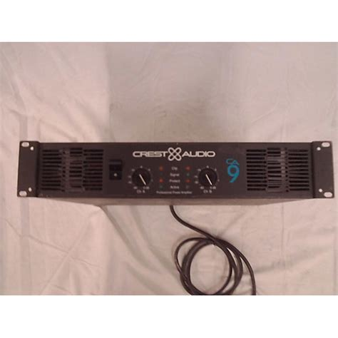 Power Lifier Ca9 Used Crest Audio Ca9 Power Guitar Center