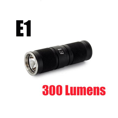 L Lumens by E1 Led Keychain With Cree Xm L Led 300 Lumens
