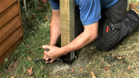 How To Fix A Recliner That Leans To One Side by Ingenious Ways You Can Do With Replacing Fence Posts