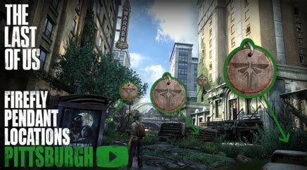 the last of us firefly pendant locations pittsburgh