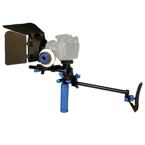 Dslr Rig Set Kit Handheld Shoulder Mount Follow Focus Matte Box dslr shoulder mount rig 1 follow focus matte box for dslr canon nikon sony rl 00iset