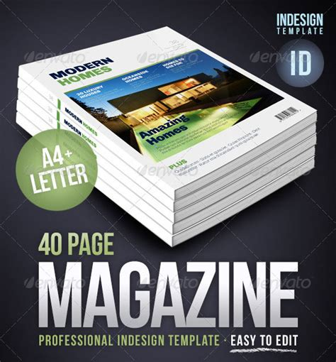 ideas mag free version 50 indesign psd magazine cover layout templates web