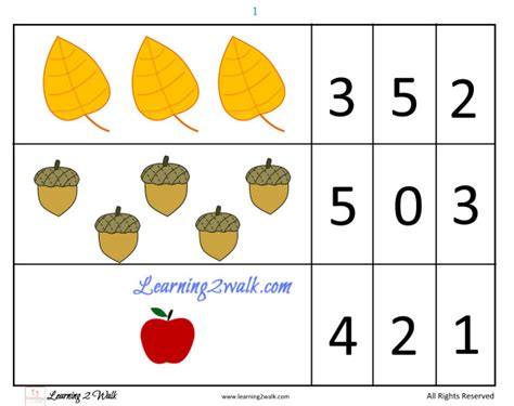 pattern recognition project ideas fall themed preschool math
