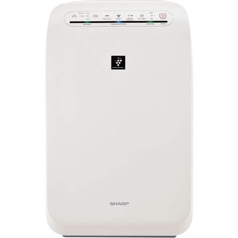 sharp plasmacluster ion air purifier with true hepa filtration fp f60uw the home depot
