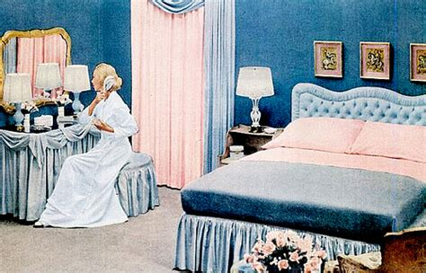 1950s bedroom early 50s bedrooms 1950 55 mid century living