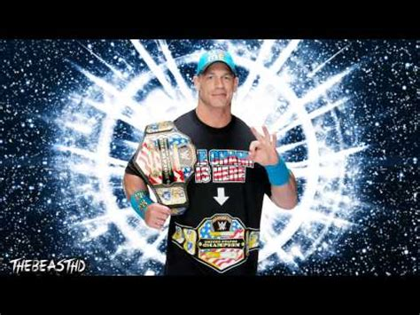 theme song of john cena 2015 john cena 6th wwe theme song the time is now youtube