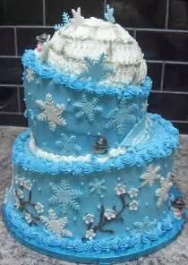 Winter Onederland Birthday Decorations - winter wonderland cake ideas winter wonderland cake pictures